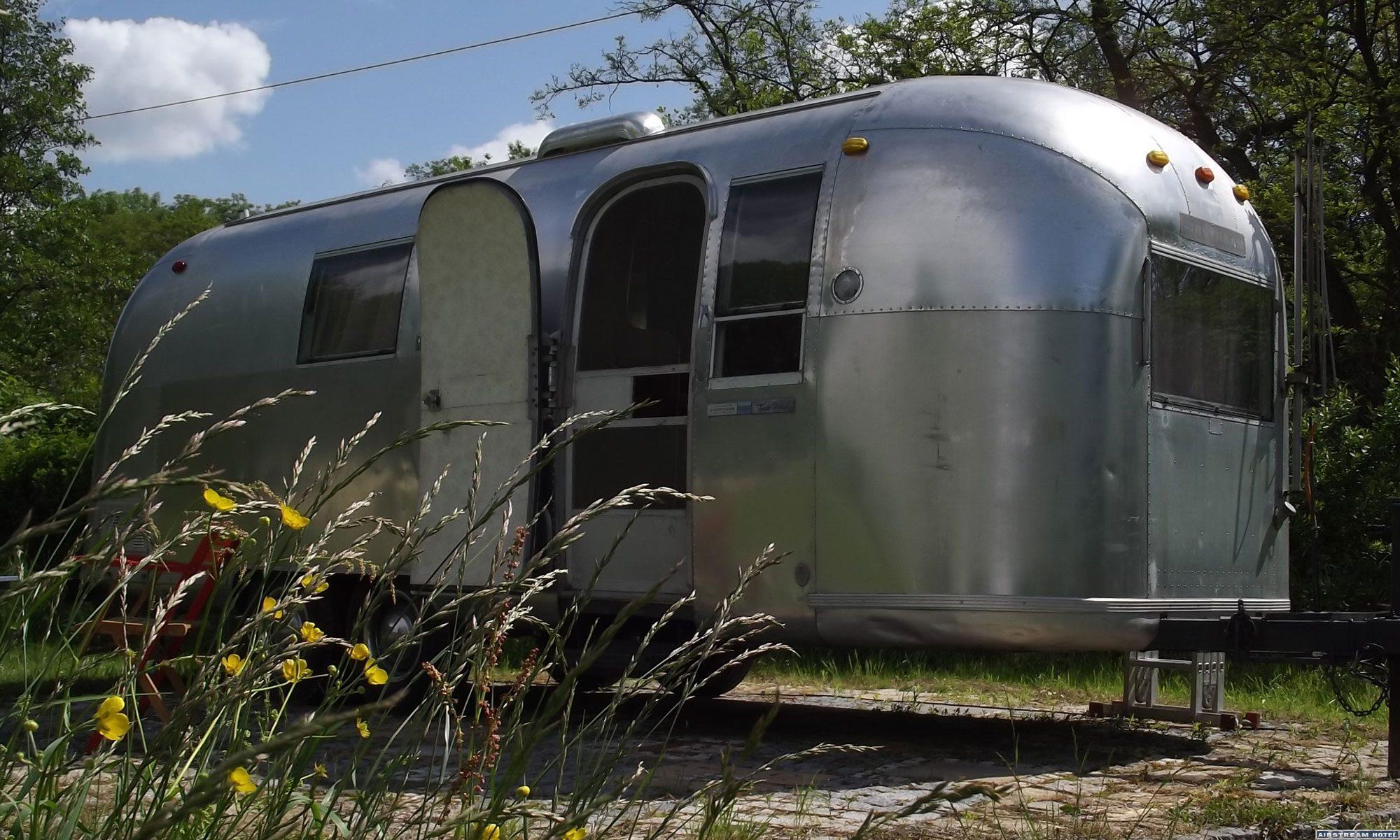 Airstream Wohnwagen Vermietung